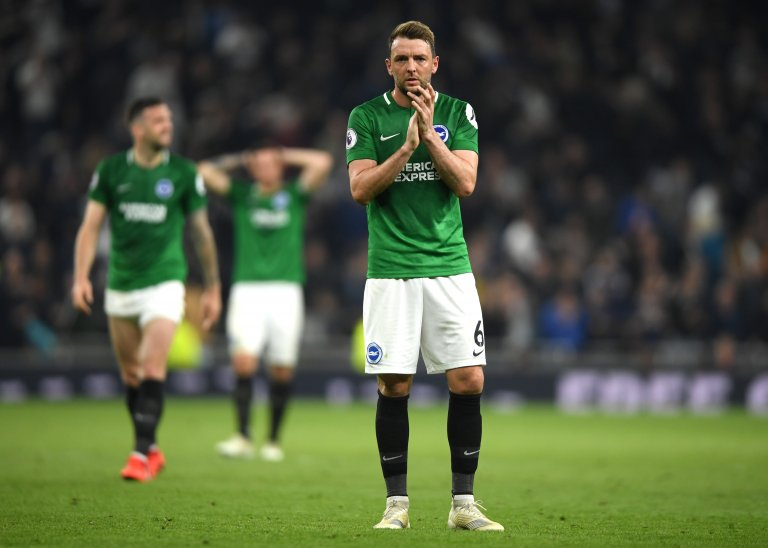 """LISTEN: Albion midfielder Dale Stephens says """"the game-plan almost worked"""" after suffering defeat to Spurs #bhafc   👇 https://bbc.in/2IRua6x"""