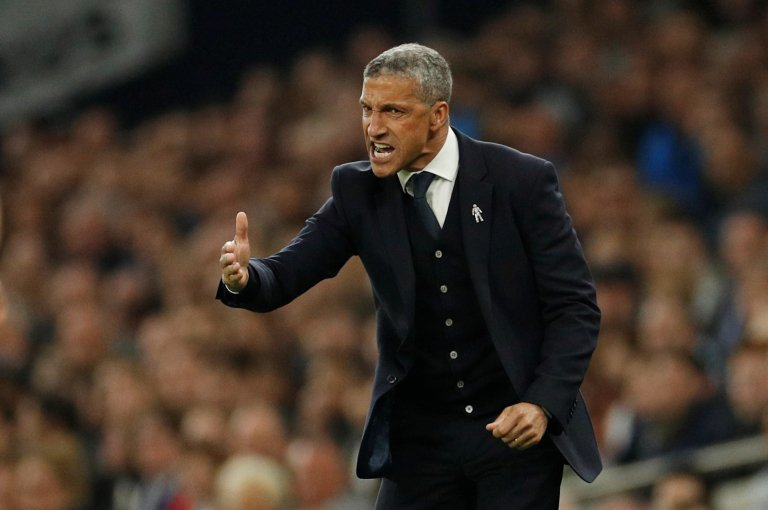 """LISTEN: Albion boss Chris Hughton """"I can't fault the effort by the players"""" after 1-0 defeat to Spurs #bhafc    👇 https://bbc.in/2ISgZSW"""