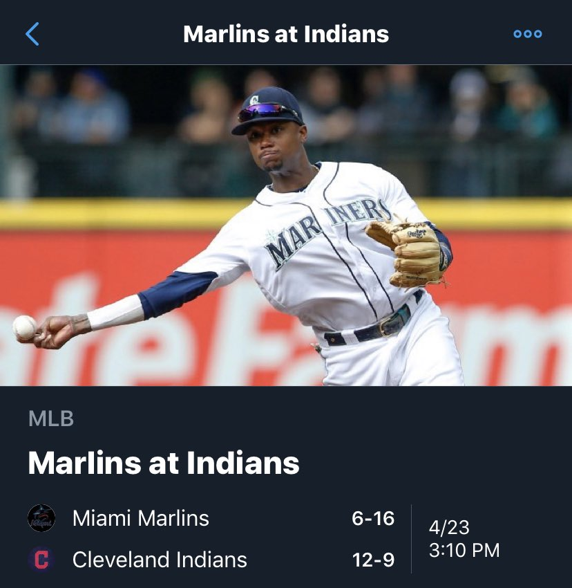 55cb3f8def9 ... either the Marlins or Indians (from  djpremis). … A baseball from the  first victory in Mets history