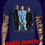 Image for the Tweet beginning: Los #Depeche en tu #camiseta