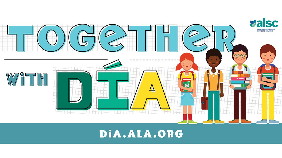 On Apr. 30, libraries across the U.S. will celebrate El Día de los Niños/El Día de los Libros (Children's Day/Book Day), a national effort encouraging literacy for all children from all backgrounds. Visit http://dia.ala.org . #diatogether #ChildrensDayBookDay @wearealsc