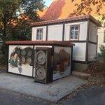 Image for the Tweet beginning: Zum #TagdesBieres #Trafokunst aus #Bodenburg