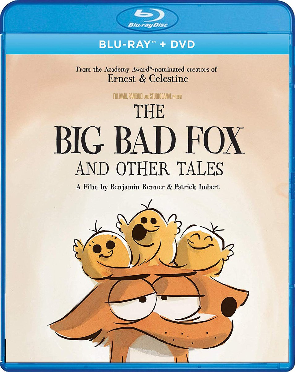 Ho Ho Holiday Viewing On Twitter The Big Bad Fox And Other Tales Is Now Available In The U S The Series Of French Shorts From The Makers Of Ernest And Celestine Include