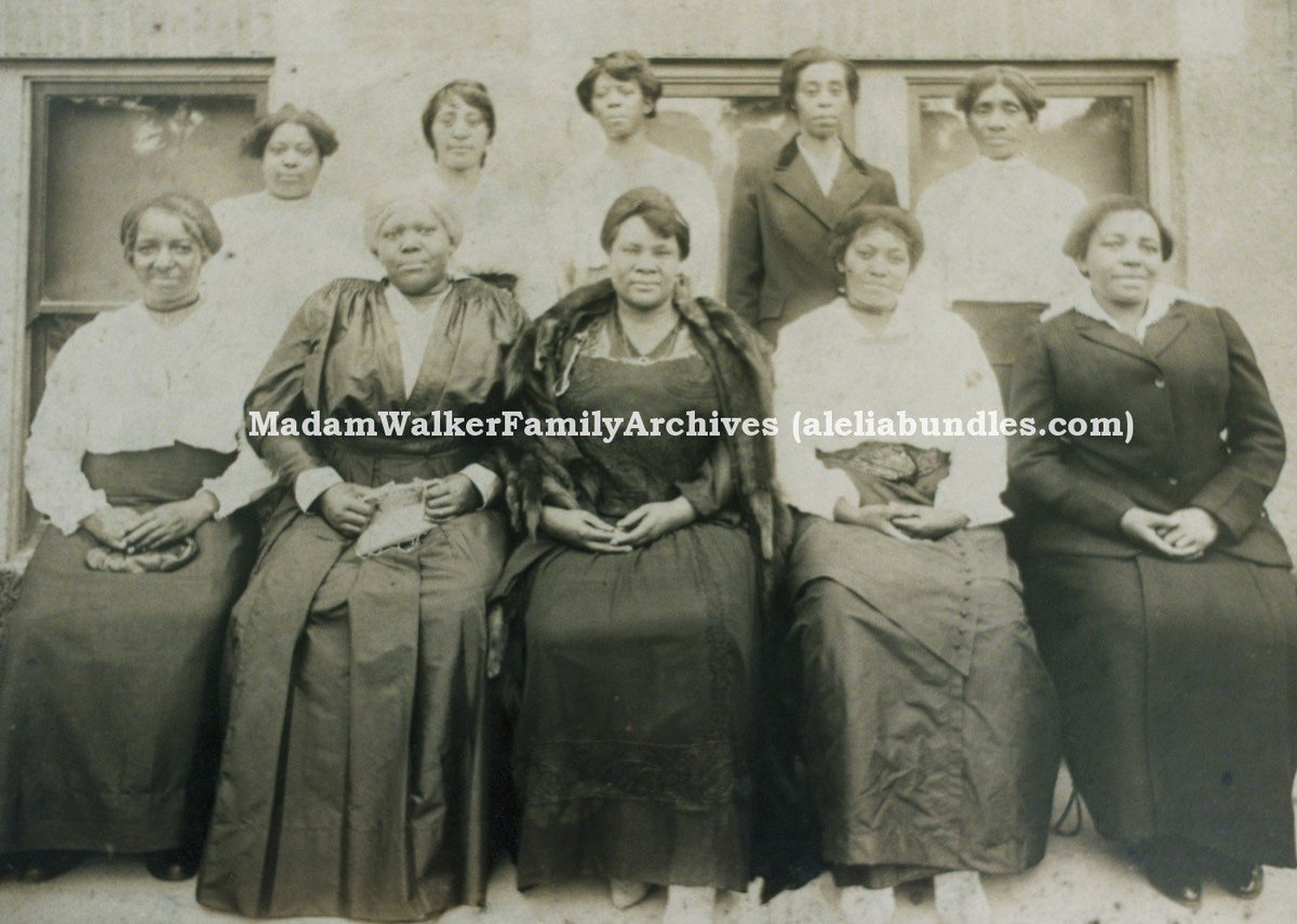 It was an honor to talk about my great-great-grandmother @MadamCJWalker on #BossPBS. Have been writing books about her for three decades. Several new projects in the works. Id love to know what most inspires you about Madam Walker & how you see her legacy.