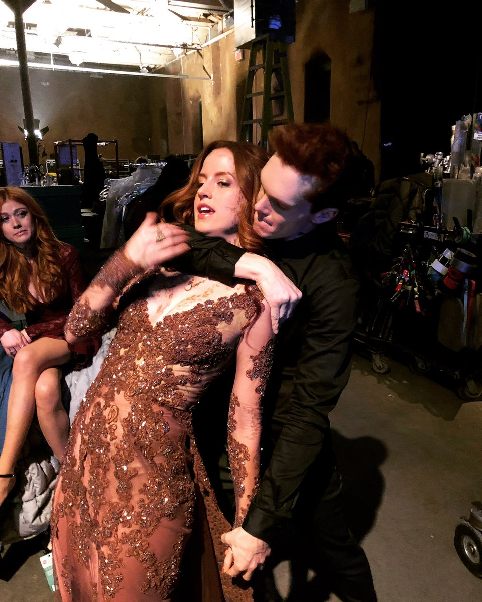 Next season of Dancing With The Stars! @KSueMurray @LukeBaines #Shadowhunters <br>http://pic.twitter.com/cY9TL82puY