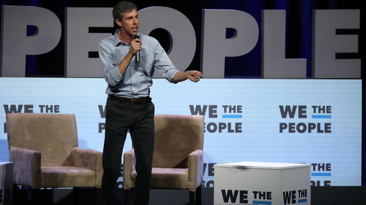 Big money Beto hosts fundraiser with tickets up to $25,000 https://trib.al/mwt0yg8