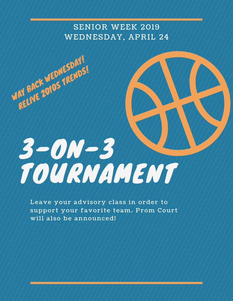 ⛹️♀️Here's what's going tomorrow⛹️♂️