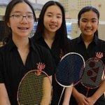 Image for the Tweet beginning: Bright future for @RedingRoyals badminton