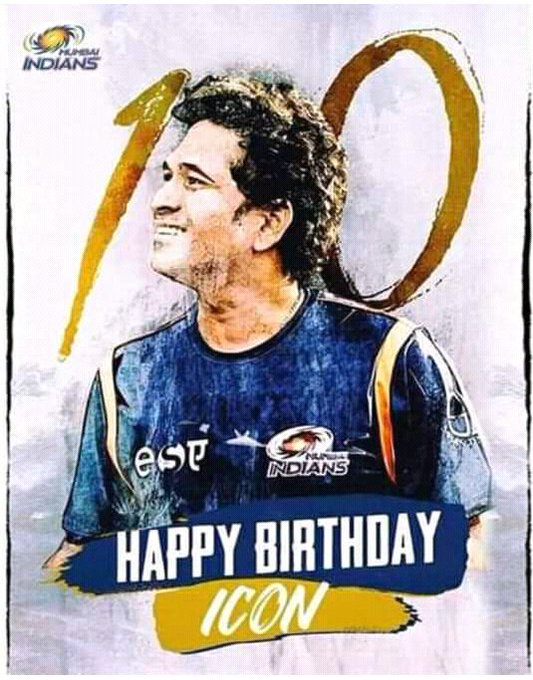 Happy birthday master blaster Sachin Tendulkar