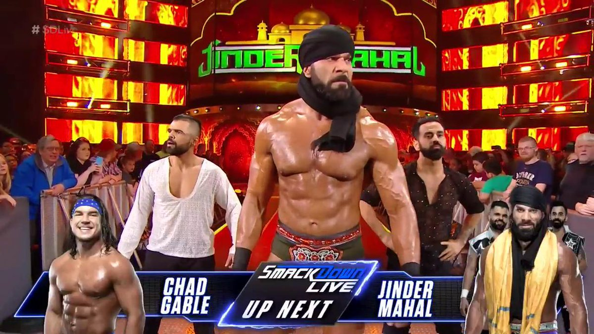 Jinder Mahal And The Singh Brothers Move To WWE SmackDown