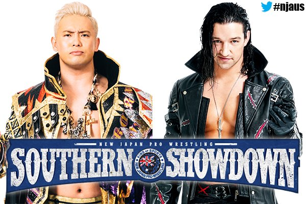 FIRST NAMES REVEALED FOR SOUTHERN SHOWDOWN!  IWGP Heavyweight Champion Kazuchika Okada &amp; Jay White are both coming to Melbourne &amp; Sydney June 29/30! MELBOURNE PRE-SALE at NOON AET! There&#39;s still time to register!  http:// ow.ly/q5fp50rimOv  &nbsp;   full details:  http:// ow.ly/5ioX50rimSt  &nbsp;  <br>http://pic.twitter.com/68tR74YrGl