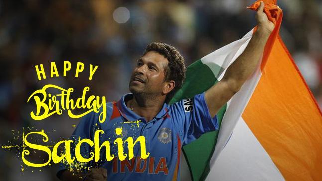 Happy Birthday Sachin Tendulkar! My all-time fav player!!