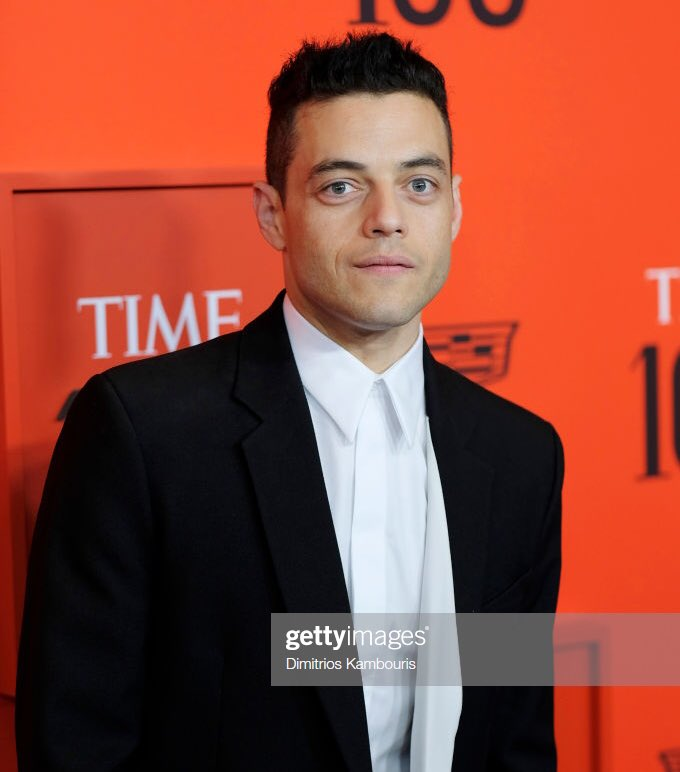rami malek, a golden globe, BAFTA, emmy, and academy award winning actor, is now officially apart of TIME magazines 100 most influential people, and i couldn't be more proud <br>http://pic.twitter.com/noBbZb9L0d
