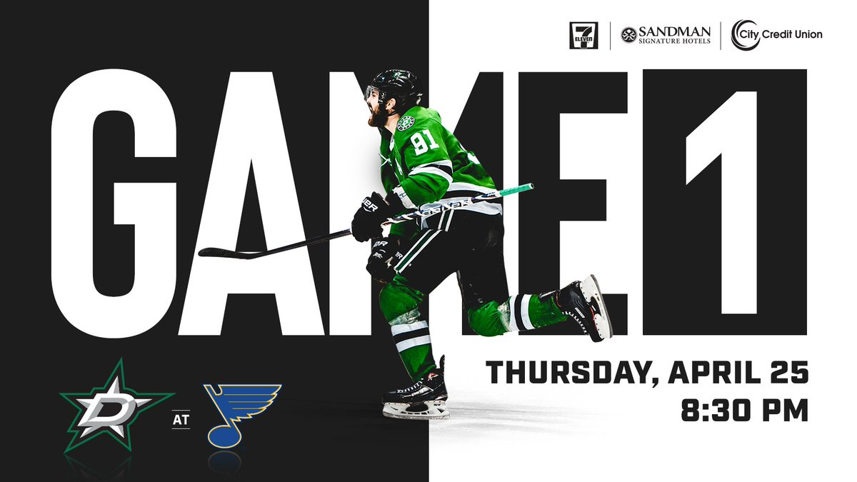 Dallas Stars On Twitter Game 1 Of Stars Vs Blues In The Second