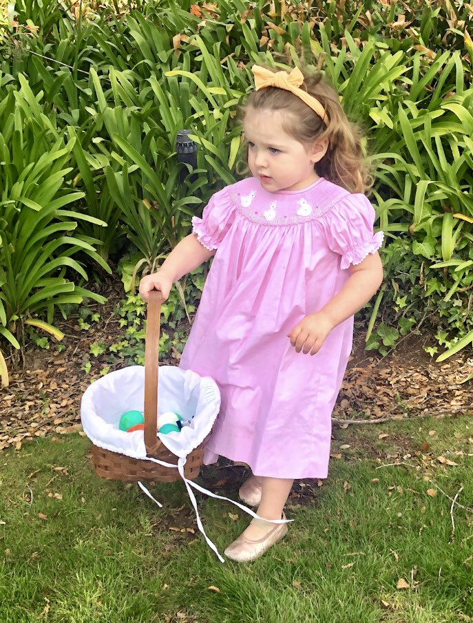#Easter Sunday's egg hunt was a hit! How precious is my little Bea in her Easter dresses? #EasterWeekend #EasterWeekend2019 #EasterSunday<br>http://pic.twitter.com/DC0lKIbvk9