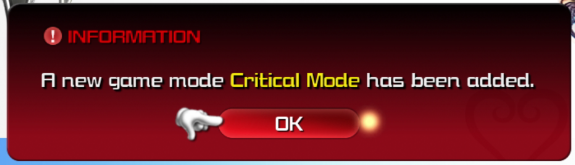 The Critical Mode update is now live for both systems and comes in at almost 700MB.