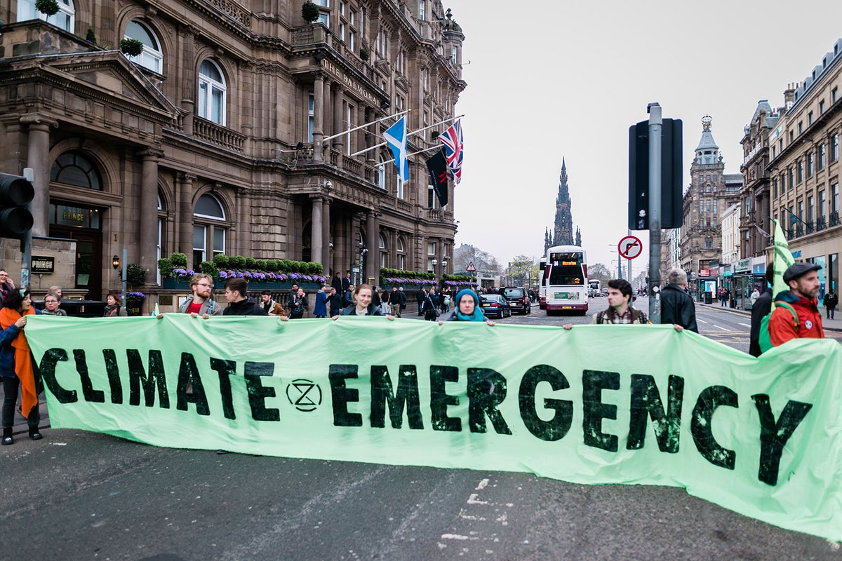 The April #InternationalRebellion is only the beginning. We are building momentum: help #ExtinctionRebellion Scotland become unstoppable! We desperately need funds to support our work in Scotland  - please donate and/or share  https://www. justgiving.com/crowdfunding/e xtinctionrebellionscotland &nbsp; …  #XRScotland<br>http://pic.twitter.com/xRg29DLNKn