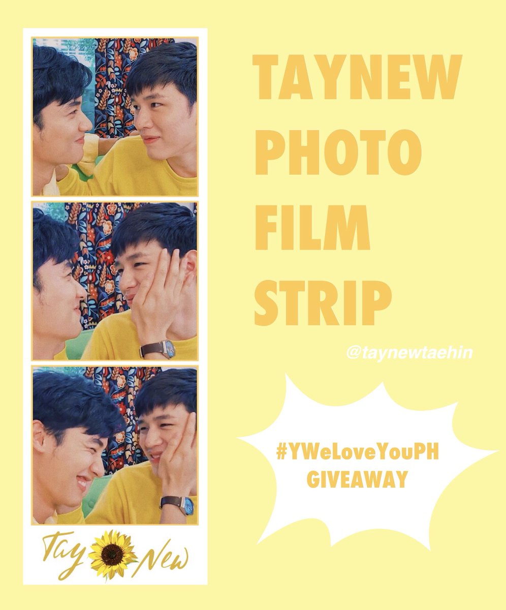 I&#39;ll be giving away taynew photostrips on Sunday   See you there!   #YWeLoveYouPH #เตนิว<br>http://pic.twitter.com/NM649NJekX