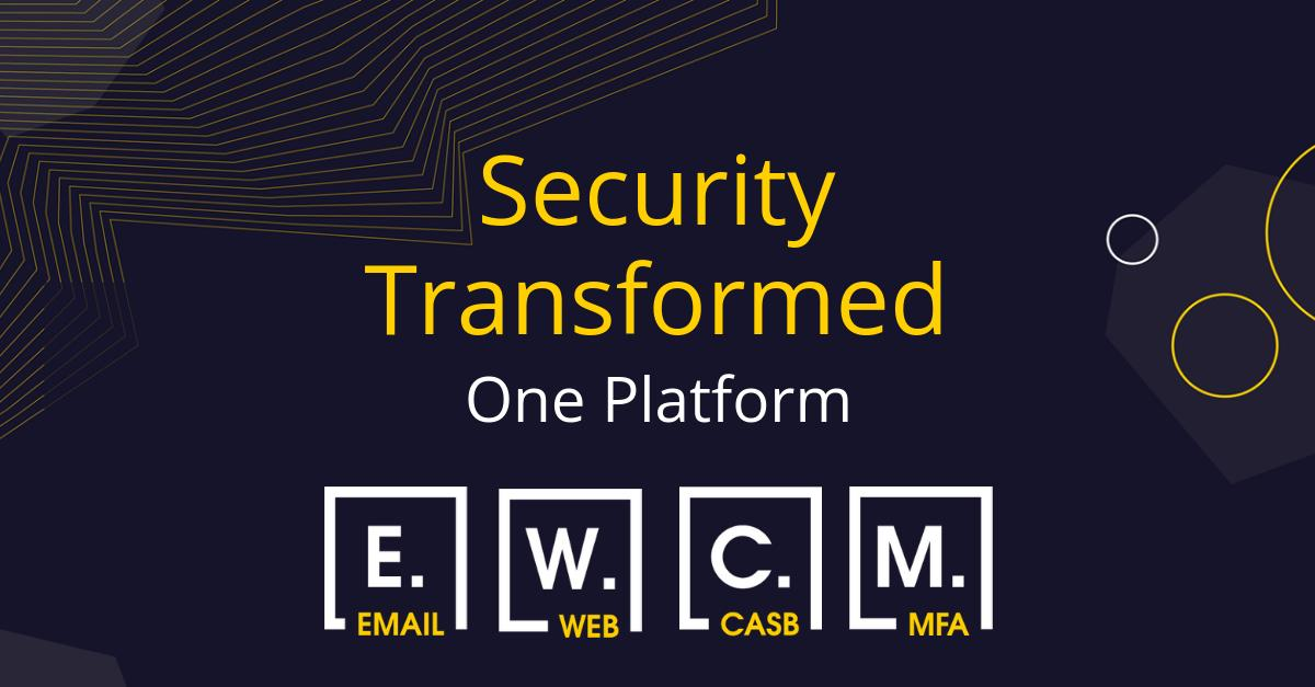 Reduce the cost and complexity that comes with using numerous security vendors by consolidating multiple best-of-breed point products in one intelligent easy to use platform. Find out more…  http:// bit.ly/2Vh4vuV  &nbsp;   #EmailSecurity #WebSecurity #CASB #MFA<br>http://pic.twitter.com/A74XX2IOGO