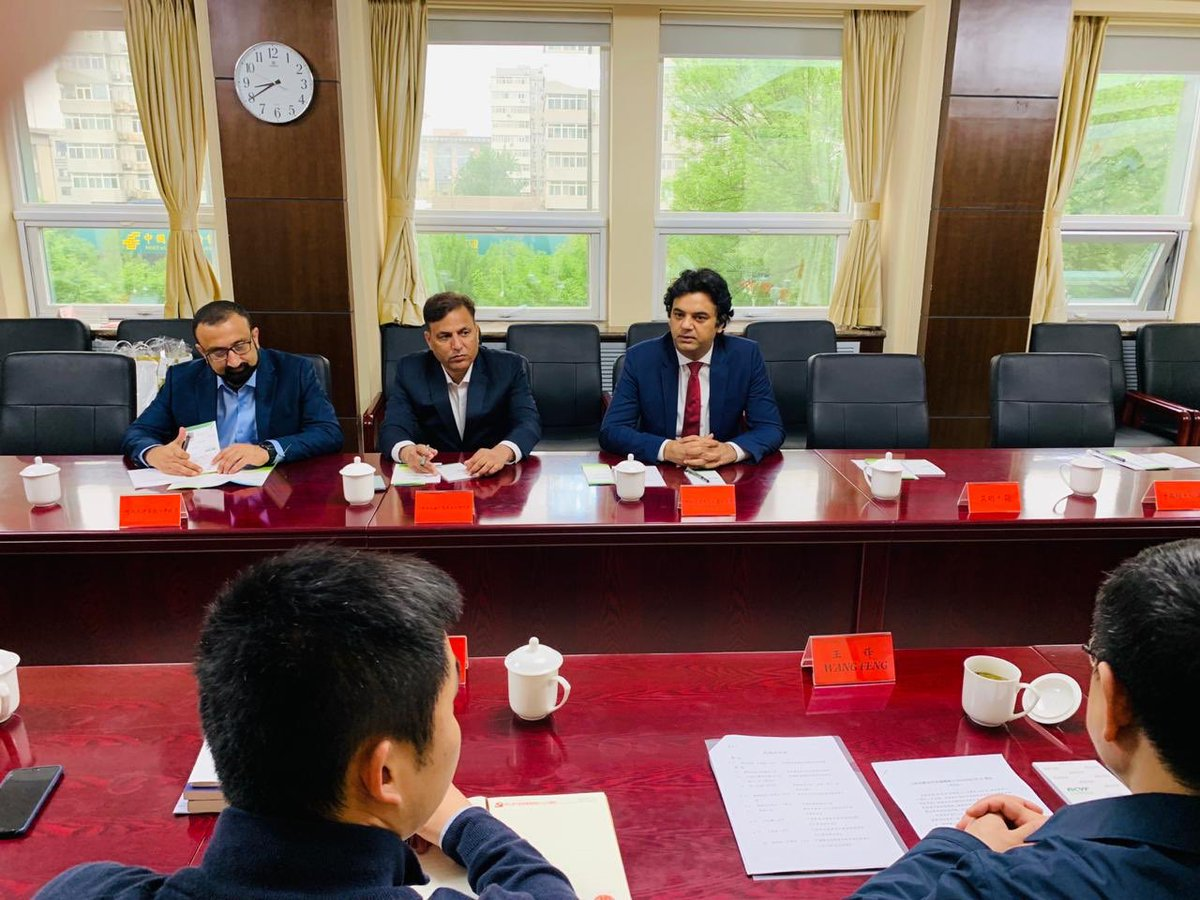 "We have reached a great breakthrough with ""All China Youth Federation."" - Our youth will get internship opportunities in Chinese enterprises - Start-ups will get training in China - Chinese skill development centres will be established in Pak through public-private partnership"