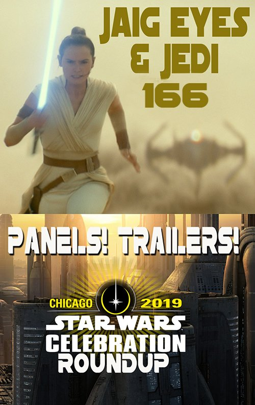 This week we talk Celebration 2019 (as two people who had to watch the streams)! There will be: -Clone Wars freaking out! -Rebels, Resistance, the Mandalorian, and Fallen Order -And of course, we discuss the Episode IX trailer  AND MORE https://t.co/oBT6FgjBqa  #StarWars #podcast https://t.co/ILhEd8Odbo