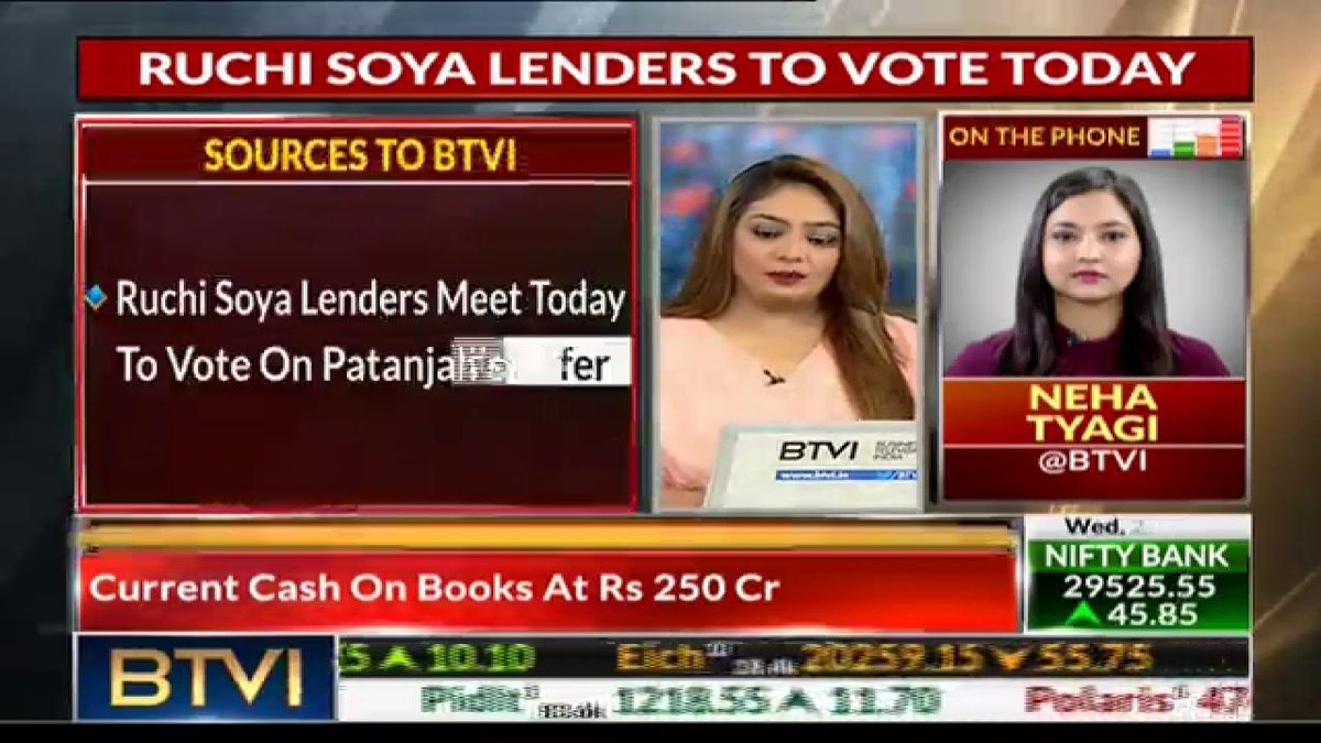 BTVIExclusive Sources: Lenders Meet Today To Vote On Patanjali Offer
