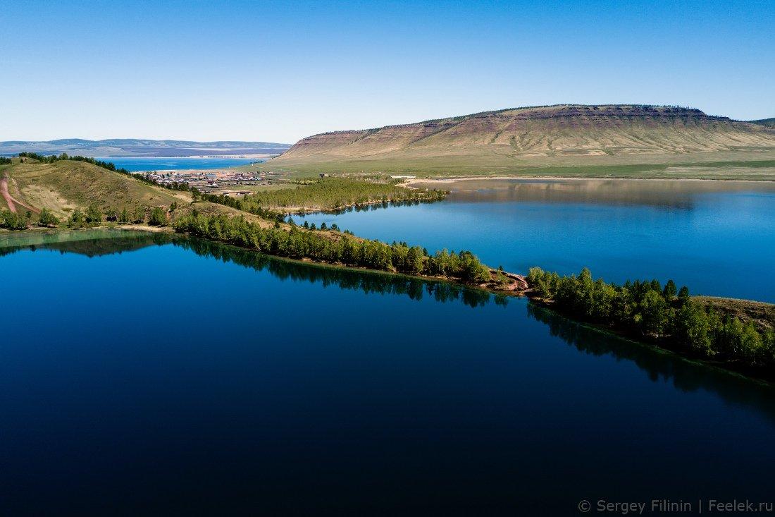этой статье озеро большое красноярский край фото даче