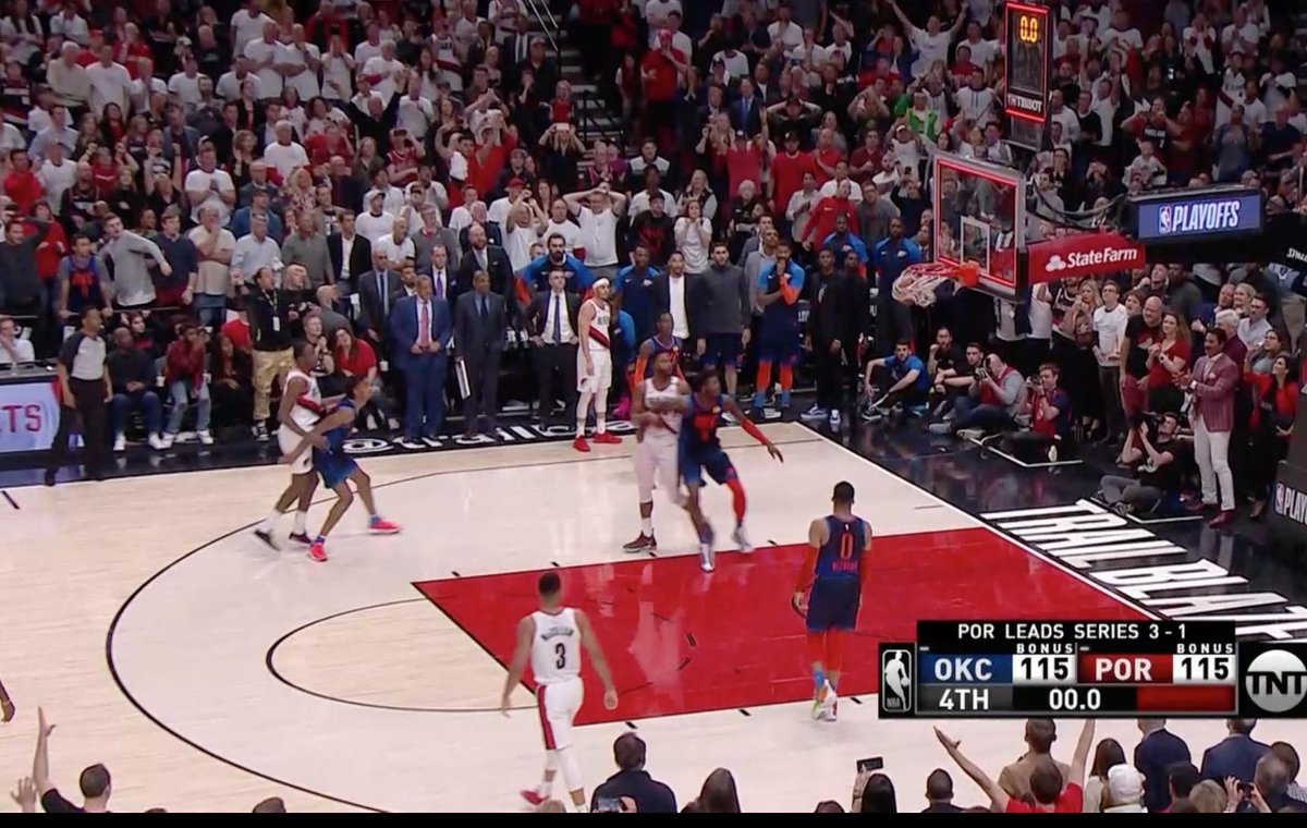 DAME OMG   BLAZERS WIN AT THE BUZZER
