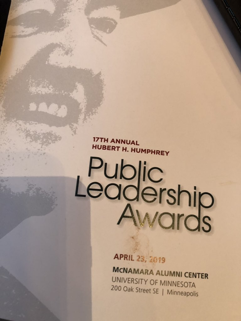 Today was...EPIC! #TwinCities was bursting w celebration of outstanding #Leadership  @HHHSchool @UMNews 2019 #PublicLeadershipAward to my @dstinc1913 Soror #DrJohnettaBCole @NCNWHQ @cookross Brigadier General #SandyBest @MNNationalGuard and #GaryEichten @MPRnews Truly inspired!