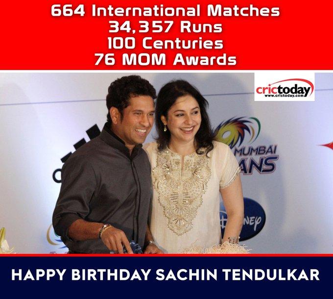 Wishing Sachin Tendulkar A Very Happy Birthday!