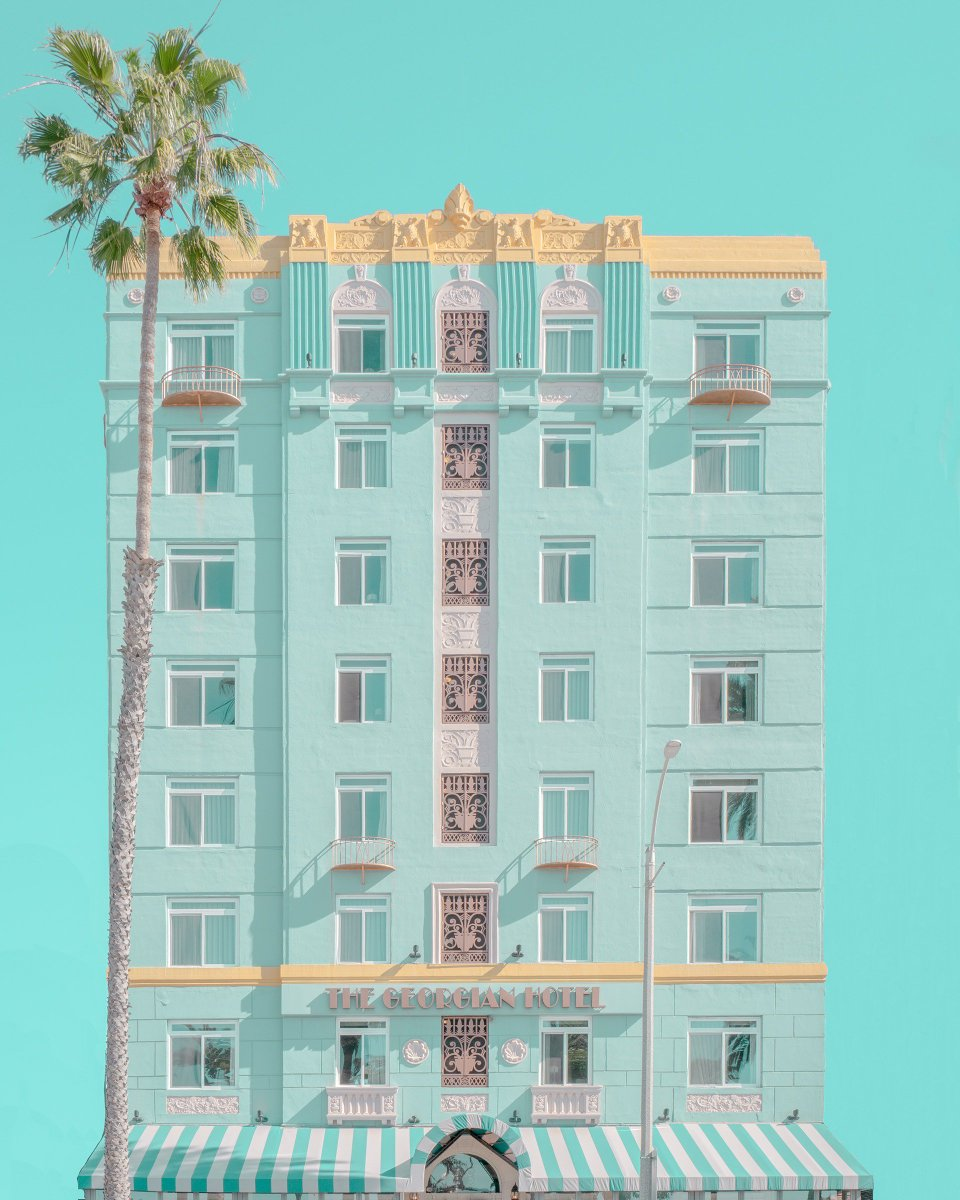 Modern Paradise - Los Angeles, CA by Mijoo Kim and Minjin Kang behance.net/gallery/786656…