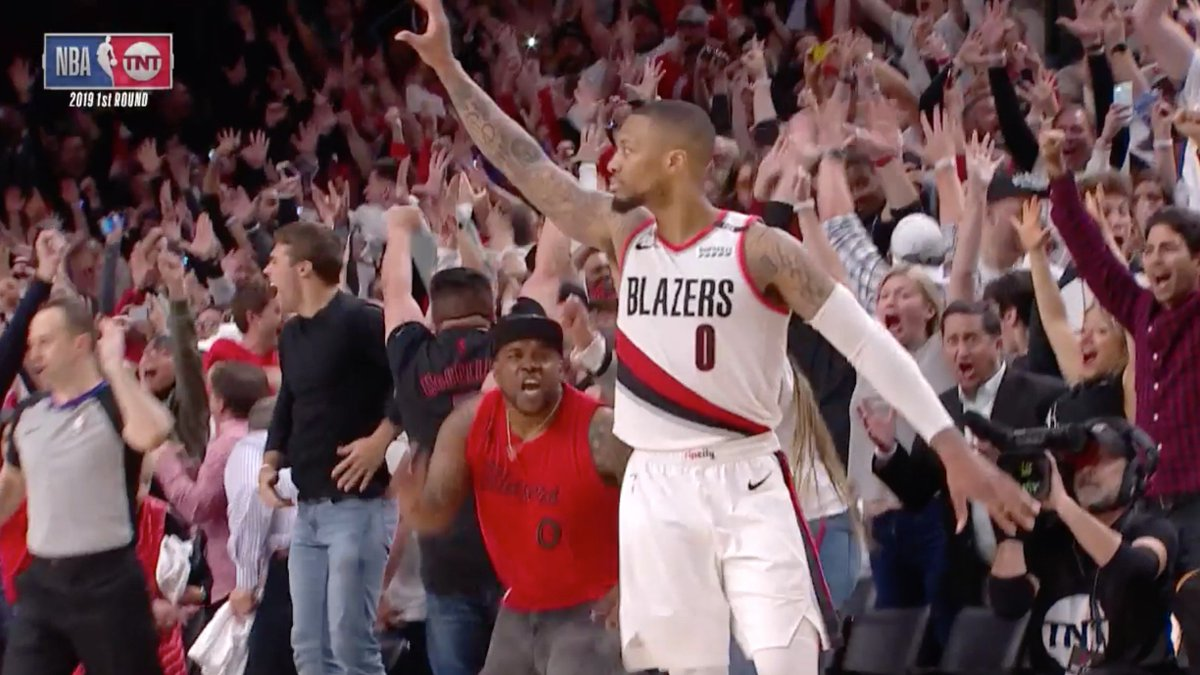 Dame waved goodbye to OKC 💀