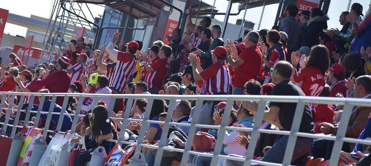 🎟   ENTRADAS   Este sábado jugamos el último partido en casa de la temporada y os necesitamos a todos en la Ciudad Deportiva 💪 ¡Hazte aquí con tus localidades! 👉 https://t.co/Fqz9RKpvx8 ¡Contamos contigo! ♥⚪♥ #AúpaAtleti #AtletiValencia https://t.co/NNNoAINS1P