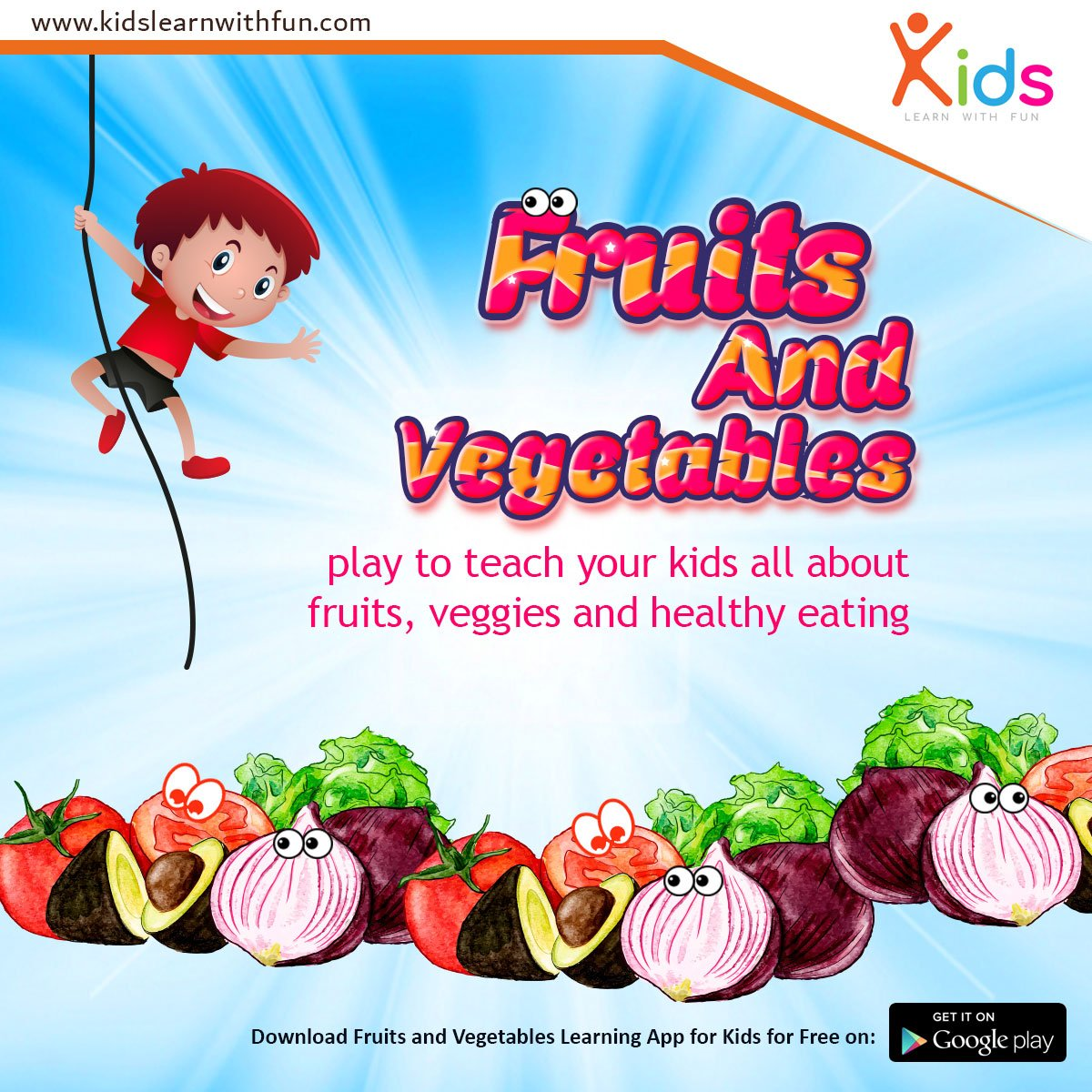 Kids Learn With Fun On Twitter Fruits Vegetables Learning App Kids Https T Co Qdiwk6crha Games Children Parents Teacher Parentsproblems Parentssolution Solution Mobilegame Video Videogame Education Kidslearnwithfun Kidsvisual
