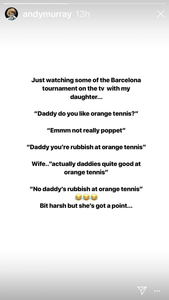 Saw this on @andy_murray Instagram. Don't you just love kids  <br>http://pic.twitter.com/nPkmy1vzAd