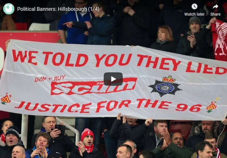 Its 30 years since the Hillsborough disaster - here, Prof of Criminology Steve Tombs explores the use of protest banners in the fight for justice for the 96 socsi.in/RDO8s #crime #socialjustice #justice @OU_SocPolCrim @OUstudents