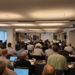 A full house at the start of 3 days of @ASTMIntl F44 #generalaviation committee meetings in Brussels. Setting global consensus standards for #GA #aviationsafety #EAircraft #EVTOL & #automation in partnership between global industry and regulators.