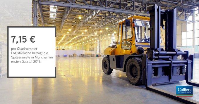 Logistik: Zahlen, bitte!<br><br>München bleibt der teuerste Logistikstandort in Deutschland, während in Leipzig vergleichsweise niedrige Mieten aufgerufen werden.<br><br>Alle Zahlen zur Logistikvermietung der deutschen Top-8:  t.co/8zl9UIUbmg