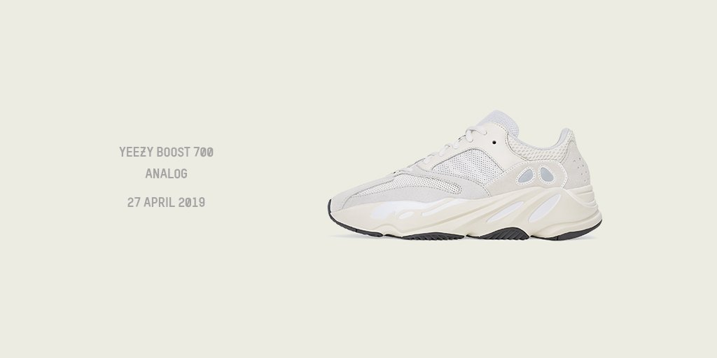 newest 998c1 d7d84 ONLINE SOON  The new Yeezy Boost 700 ANALOG arrives this Saturday 27th on   TheDoubleF. Keep an eye out → http   bit.ly Sneakers-Hub  yeezy  yeezy700  ...