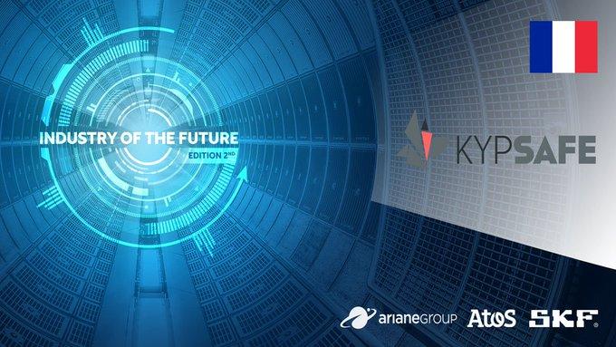 #ChallengeIndustrieDuFutur 🇲🇫 Bravo à #KypSafe, solution développée par @XpDigit...