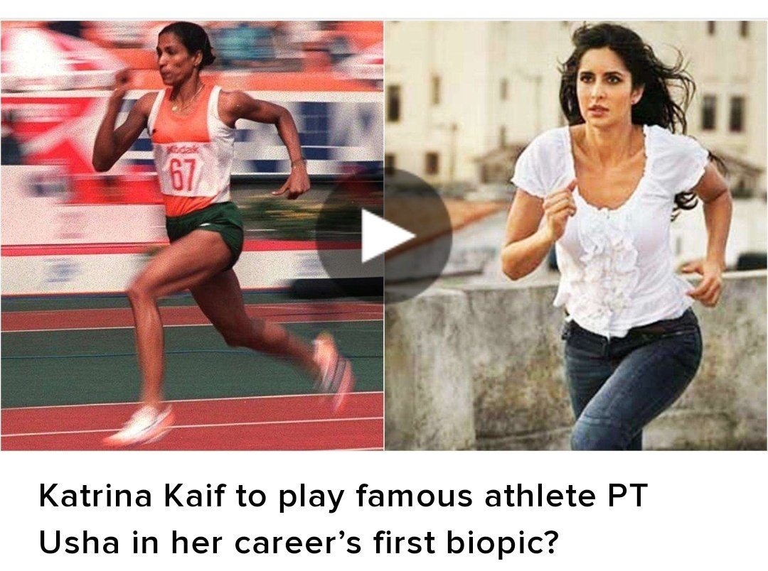 """When Katrina was approached for this role, she said """"I am honoured. I can't express my happiness..or sadness or anything. Just can't express."""""""