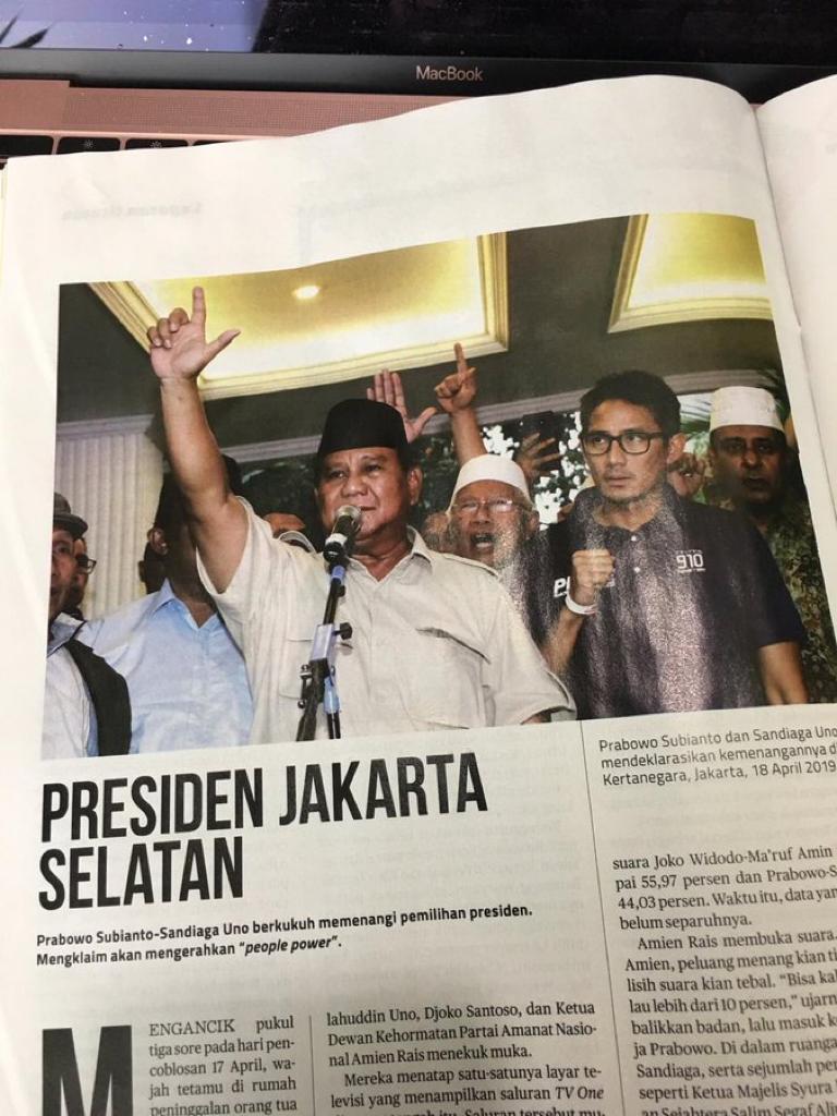 Bentar lagi @Gerindra dan pak @prabowo akan umumkan pembentukan kabinet..