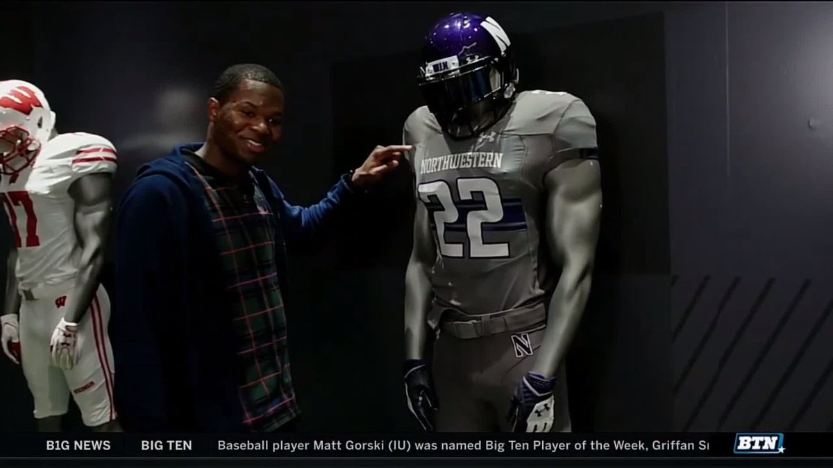 Most underrated @B1Gfootball player of the last few seasons?  Montre Hartage (@Montrehhh) has to be in the conversation.  We spent the day with the former @NUFBFamily CB and 2019 NFL Draft prospect.