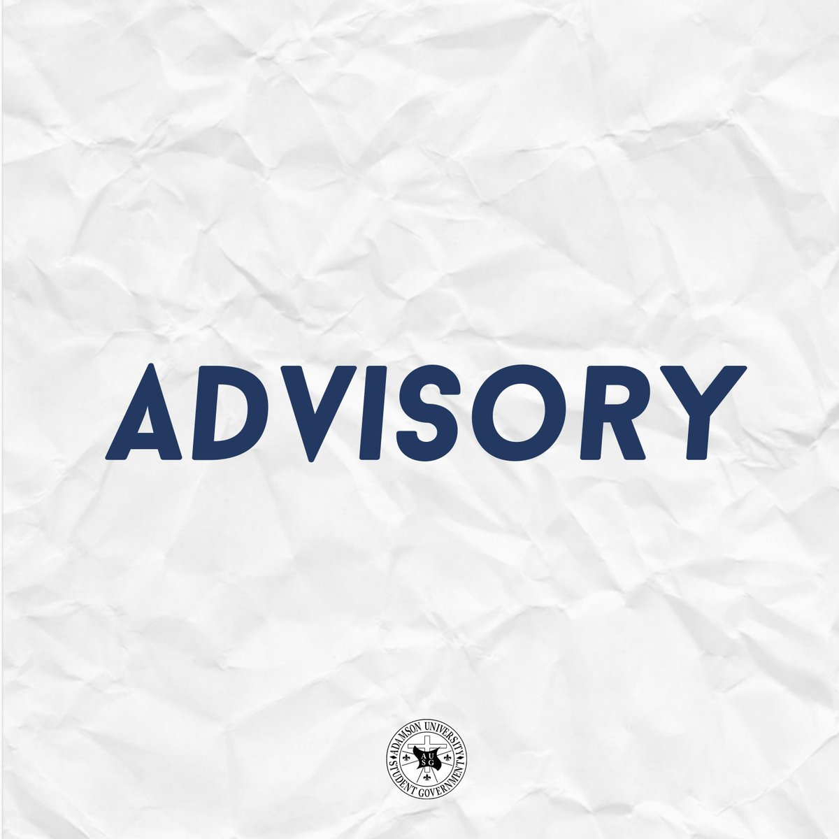 JUST IN: The VPAA and VPSA approved AUSG&#39;s request to allow college students to wear alternative shirts during the months of April and May. Starting this week, students may wear White AdU shirt every Monday and Blue AdU Shirt every Friday. <br>http://pic.twitter.com/jaUAqRFPbX