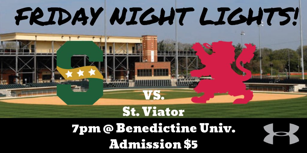 Come out to support the Patriots as they take on St. Viator under the lights at Benedictine Univ. Friday. #RaisetheBar<br>http://pic.twitter.com/hwDA52mS4d