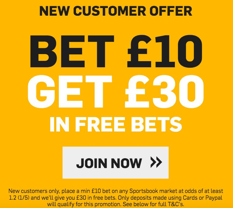 This special is available at Betfair! Bet £10 and get yourself £30 in FREE BETS when you join here >>> footy.ac/BetfairFA1030 New Customer Offer T&Cs apply 18+ begambleaware