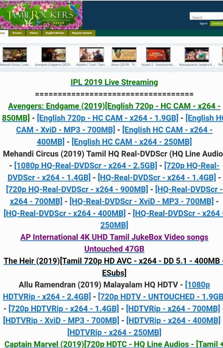www.tamilrockers.let