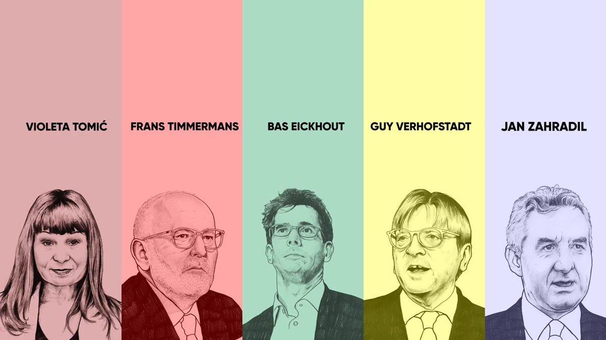 Image for the Tweet beginning: Don't miss the #MaastrichtDebate 🗣 #Spitzenkandidaten