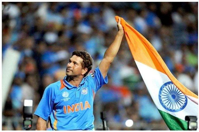 Happy Birthday Sachin Tendulkar:                                             ?