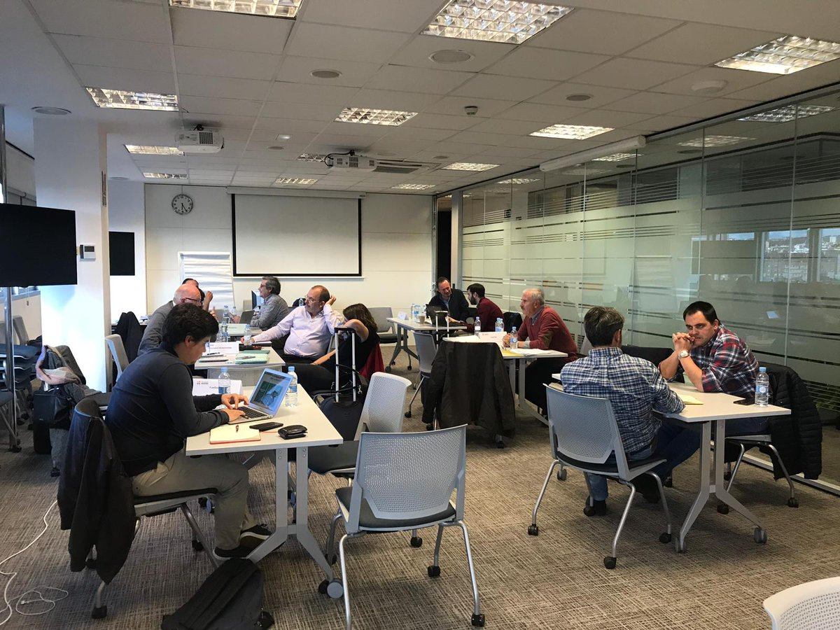 Esta semana asistimos a la última formación del programa del Fondo de Emprendedores de la @FundacionRepsol. Como siempre... aprendiendo a cada momento.
